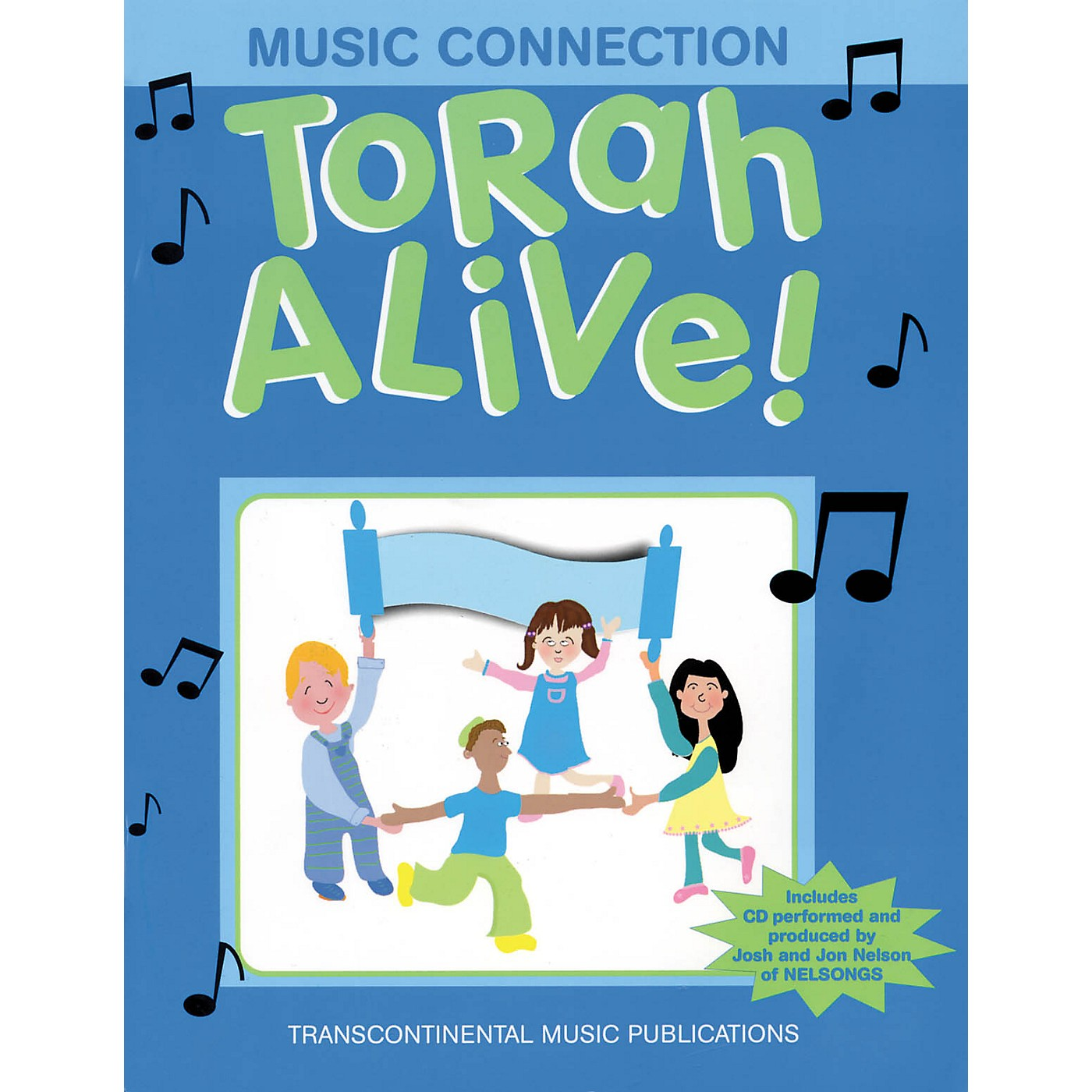 Transcontinental Music Torah Alive! Music Connection Book and CD pak Arranged by Joel Eglash thumbnail