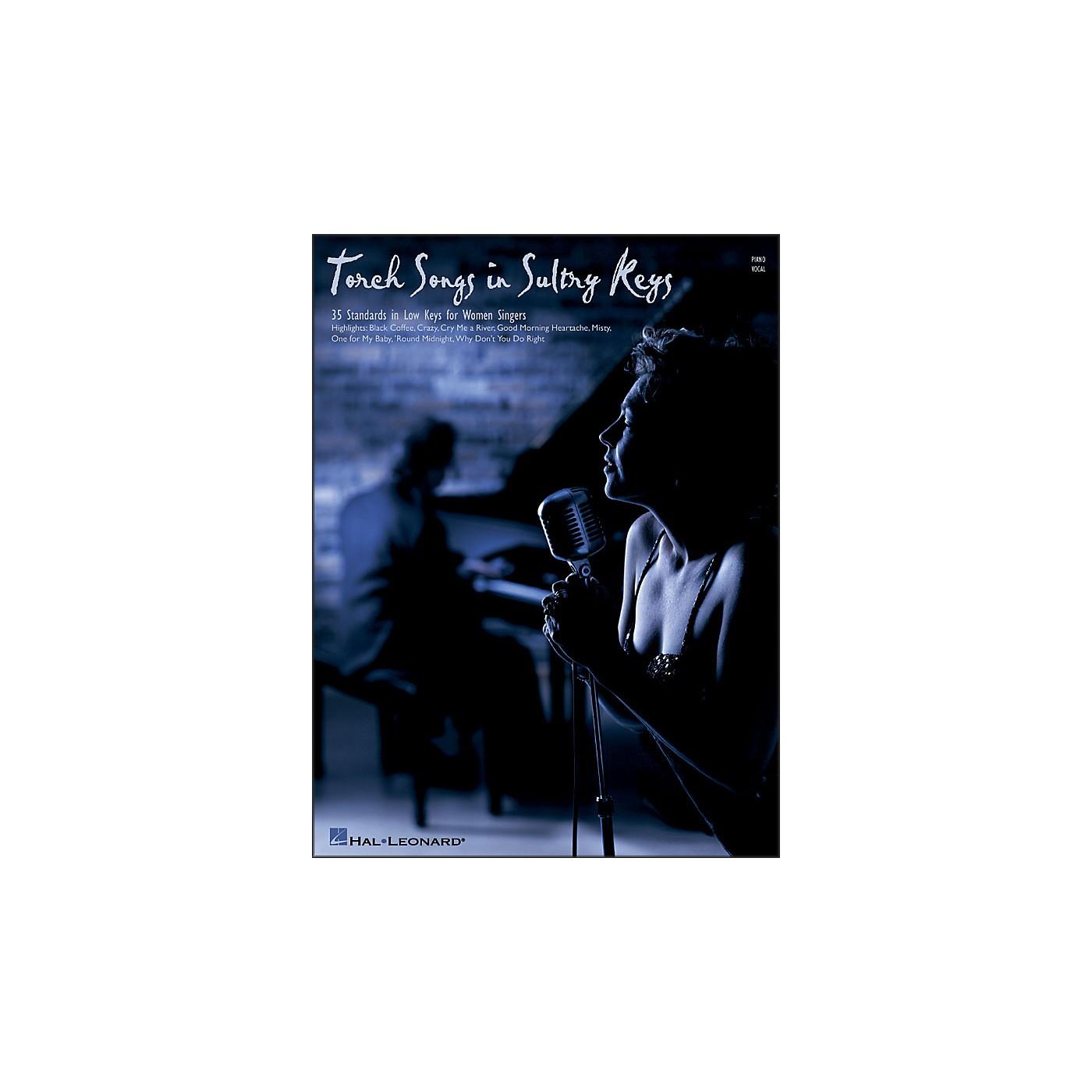 Hal Leonard Torch Songs In Sultry Keys for Women Singers thumbnail