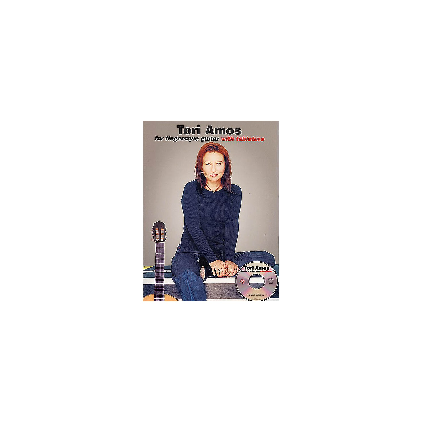 Music Sales Tori Amos for Fingerstyle Guitar Music Sales America Series Softcover with CD Performed by Tori Amos thumbnail
