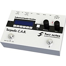 Two Notes Audio Engineering Torpedo C.A.B. Digital Speaker Cabinet Simulator Pedal