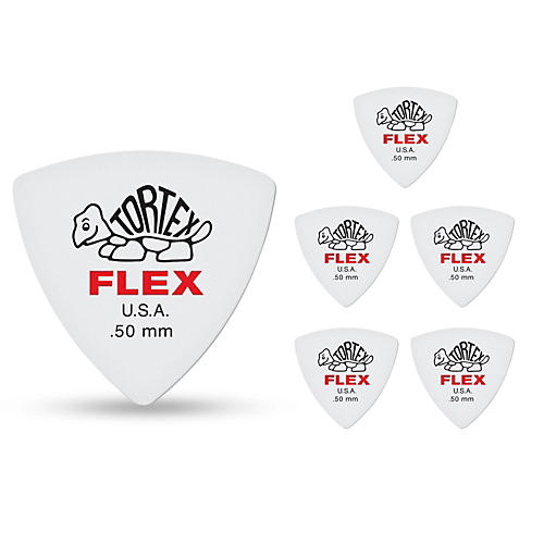 Dunlop Tortex Flex Triangle Guitar Picks thumbnail