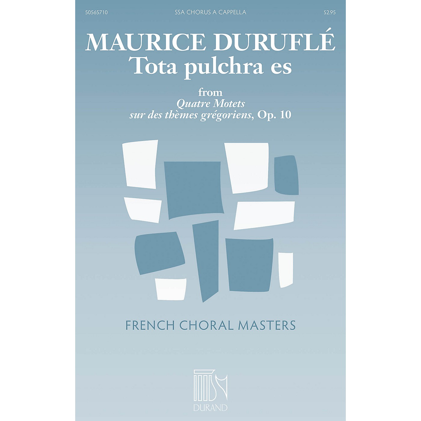 Durand Tota pulchra es (from Quatre Motets sur des themes gregoriens) SSA A Cappella Composed by Maurice Durufle thumbnail