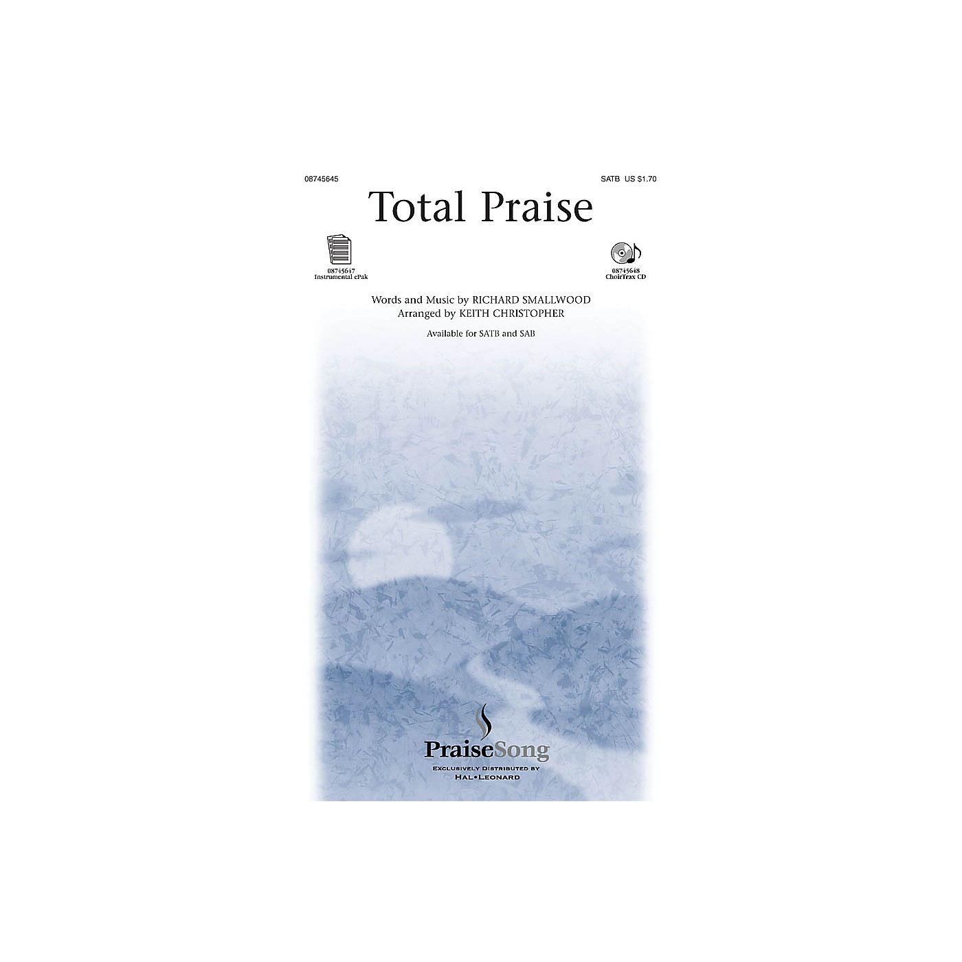 PraiseSong Total Praise IPAKO Arranged by Keith Christopher thumbnail