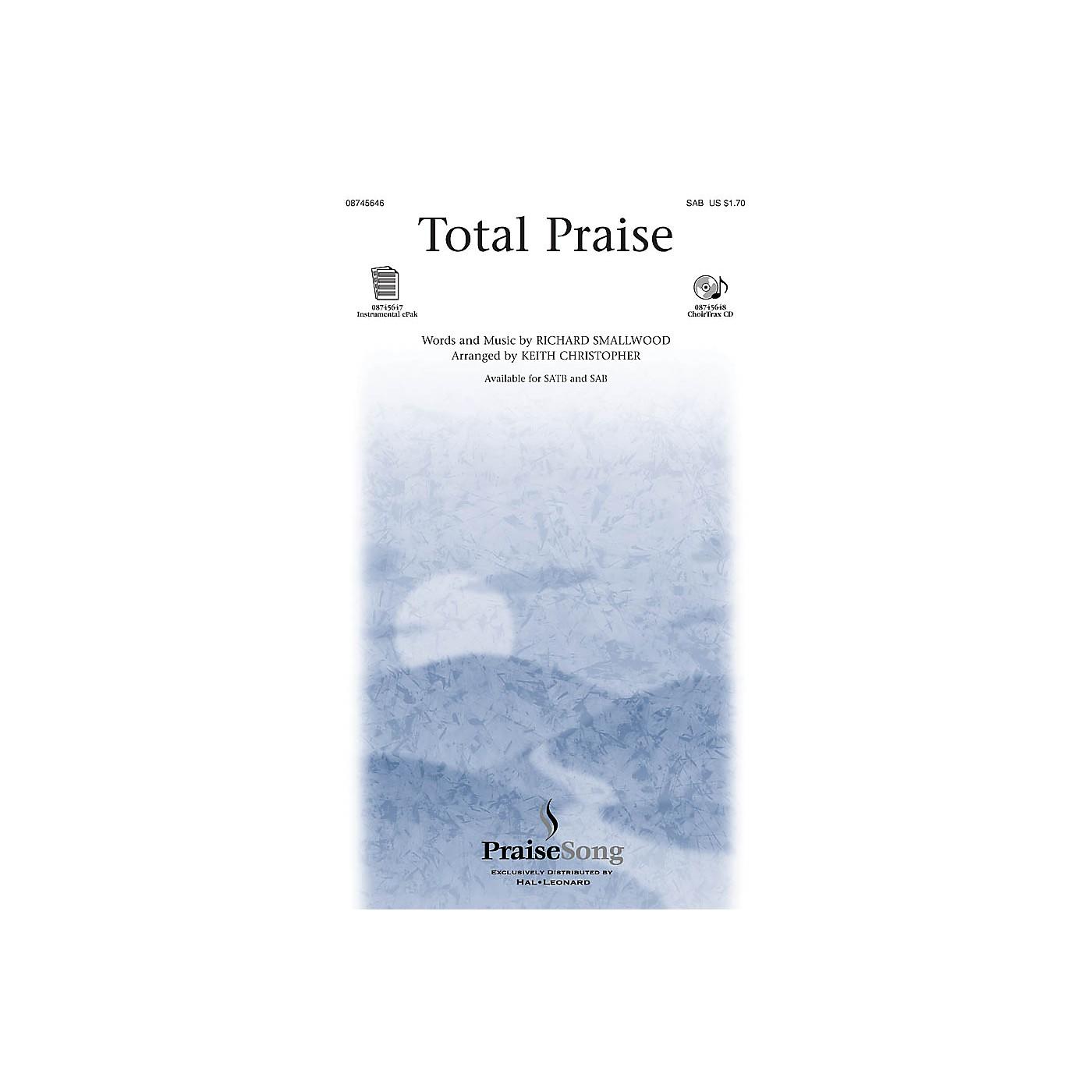 PraiseSong Total Praise SAB arranged by Keith Christopher thumbnail