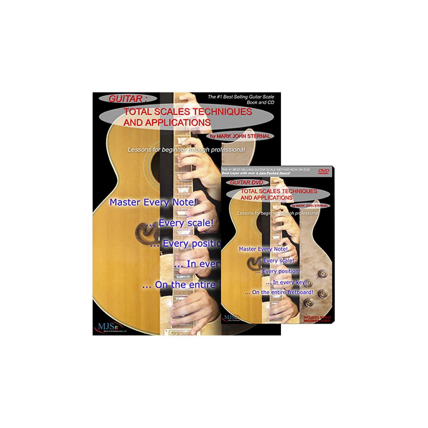 MJS Music Publications Total Scales Techniques And Applications DVD, Book, and CD Set thumbnail