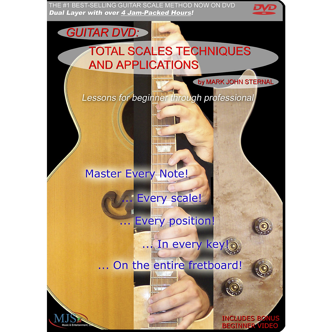 MJS Music Publications Total Scales Techniques And Applications DVD thumbnail