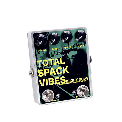 Dwarfcraft Total Spack Vibes Overdrive Guitar Effects Pedal-thumbnail