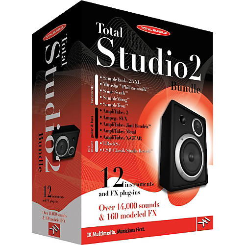 IK Multimedia Total Studio 2 Composition & Recording Software Bundle thumbnail