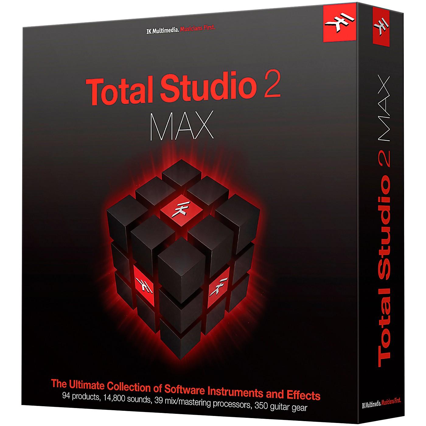IK Multimedia Total Studio 2 MAX Crossgrade thumbnail