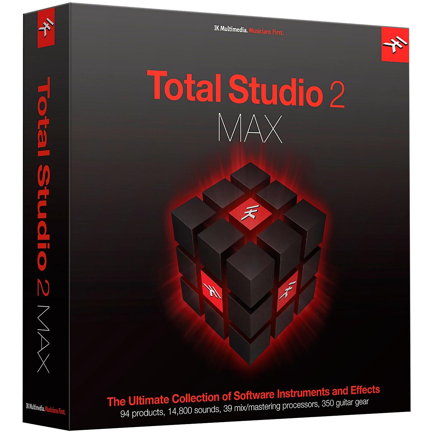 IK Multimedia Total Studio 2 MAX thumbnail