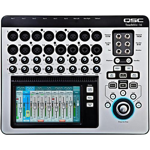 QSC TouchMix-16 16-Channel Compact Digital Mixer thumbnail