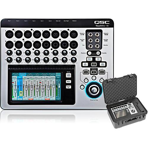 QSC TouchMix-16 Compact Digital Mixer with Case thumbnail