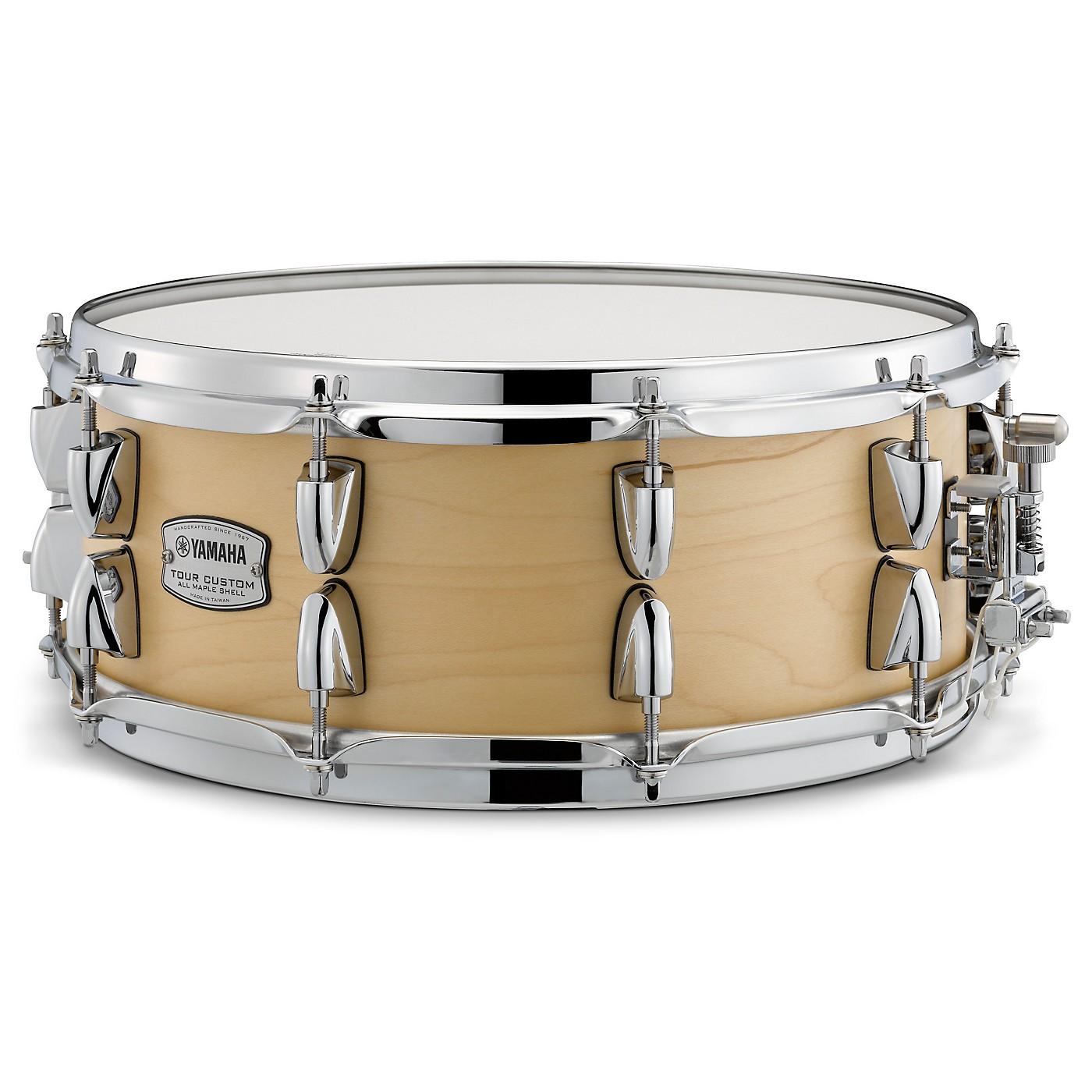 Yamaha Tour Custom Maple Snare Drum thumbnail
