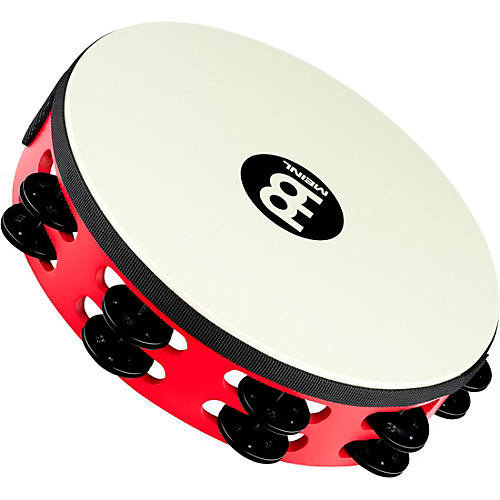 Meinl Touring Synthetic Head Wood Tambourine Two Rows thumbnail