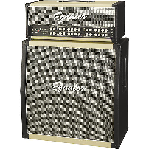 Egnater Tourmaster 4100 Guitar Amp Head and Tourmaster 412A 280W 4x12 Guitar Extension Cabinet thumbnail