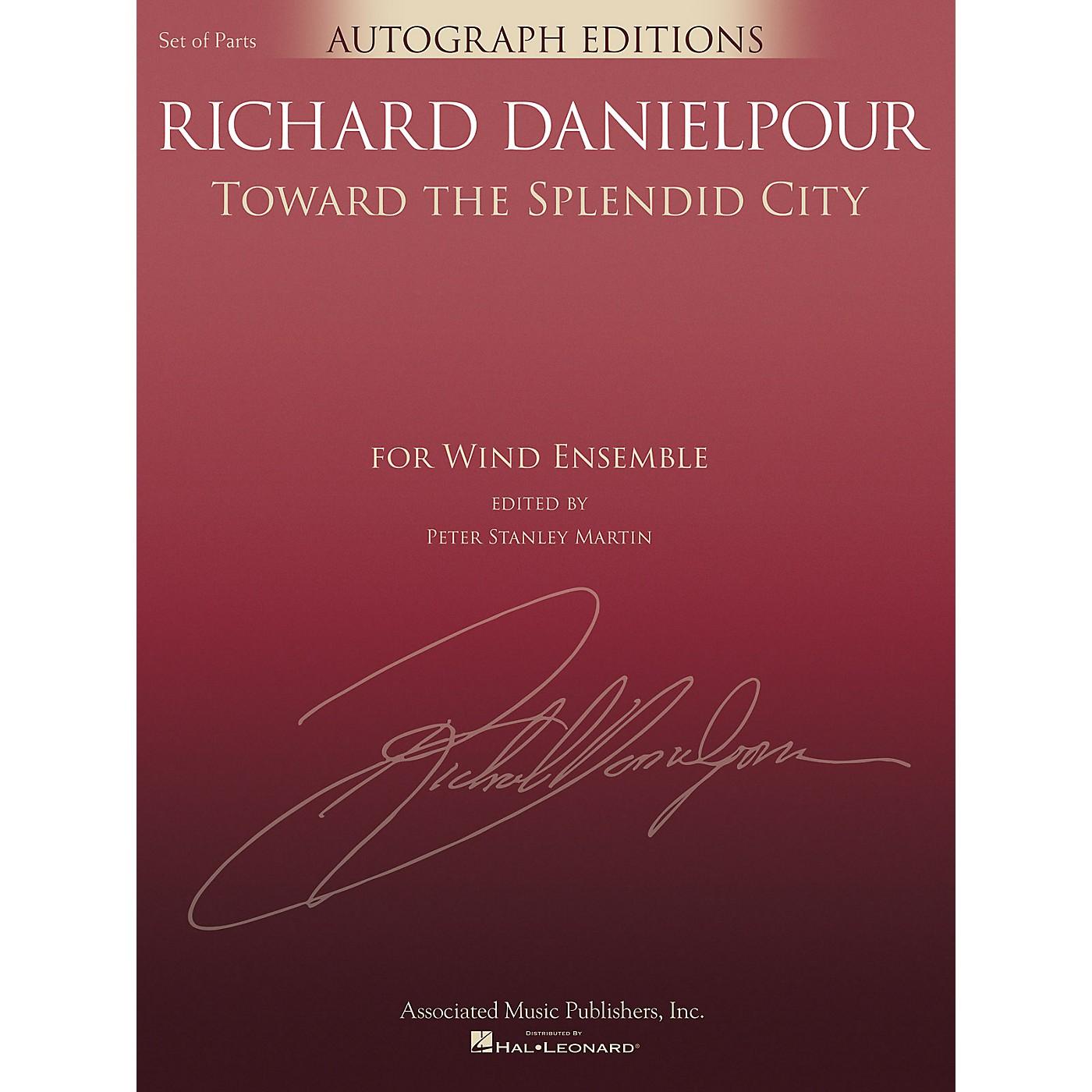 G. Schirmer Toward the Splendid City Concert Band Level 5 composed by Richard Danielpour thumbnail