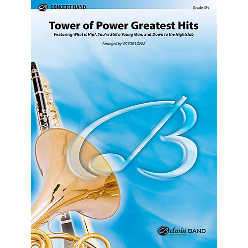 Alfred Tower of Power Greatest Hits Concert Band Level 3.5 Set-thumbnail