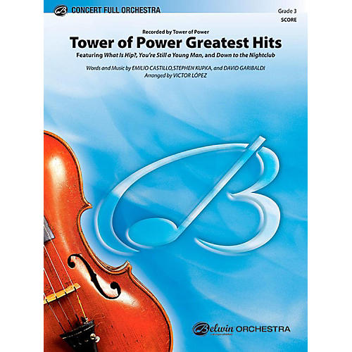 Alfred Tower of Power Greatest Hits Full Orchestra Level 3 Set thumbnail