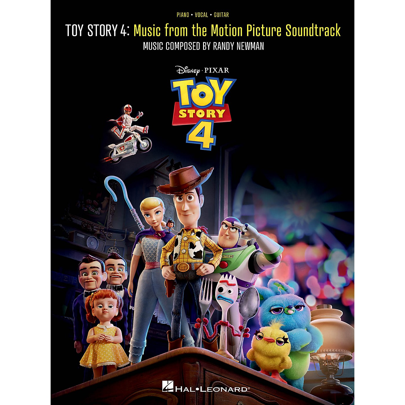 Hal Leonard Toy Story 4 (Music from the Motion Picture Soundtrack) Piano/Vocal/Guitar Songbook thumbnail