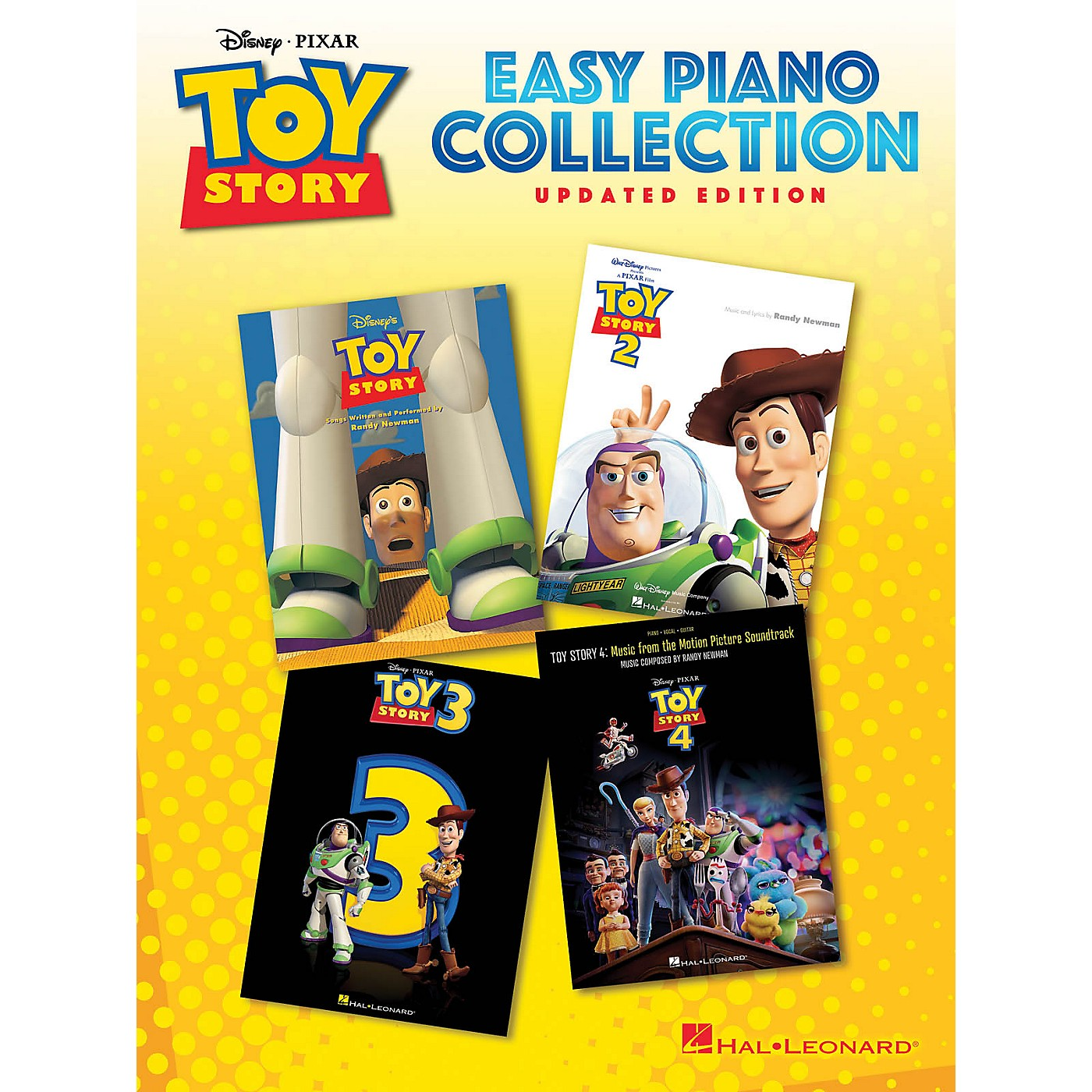 Hal Leonard Toy Story Easy Piano Collection - Updated Edition thumbnail