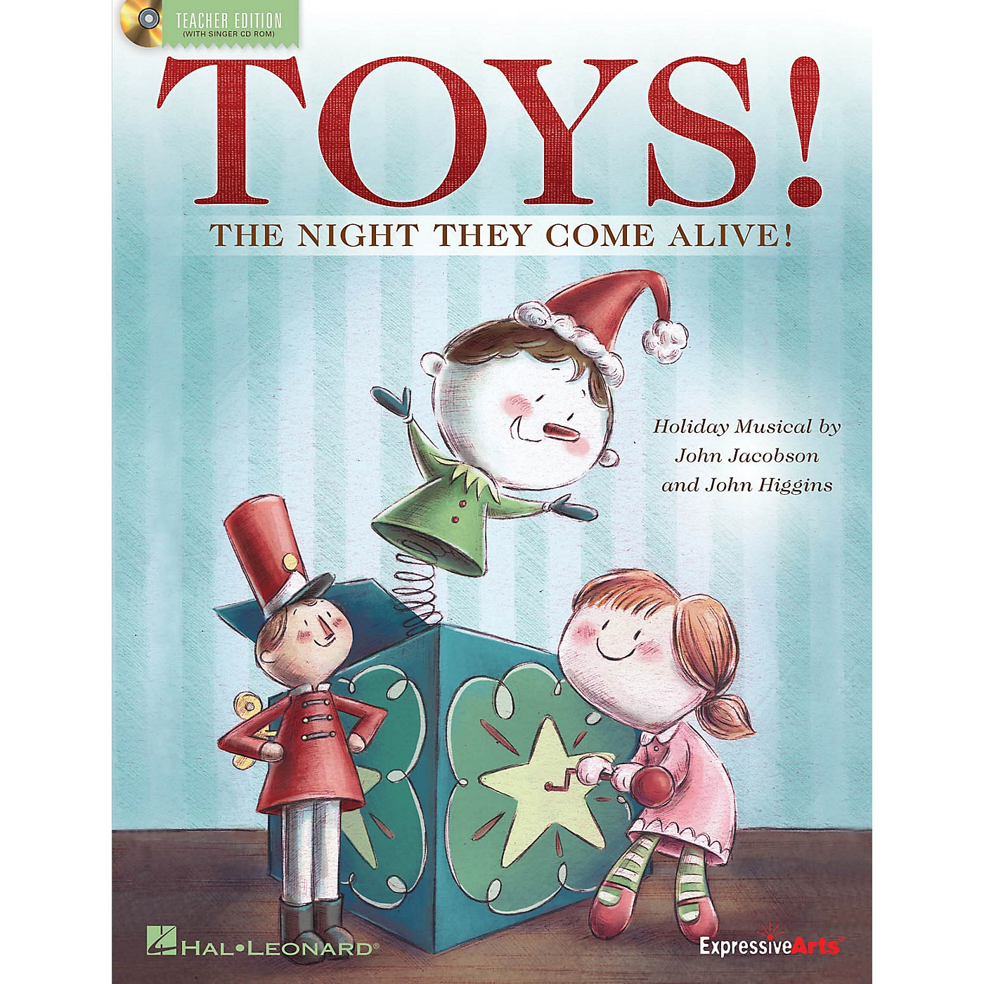 Hal Leonard Toys! (The Night They Come Alive!) CLASSRM KIT Composed by John Jacobson thumbnail
