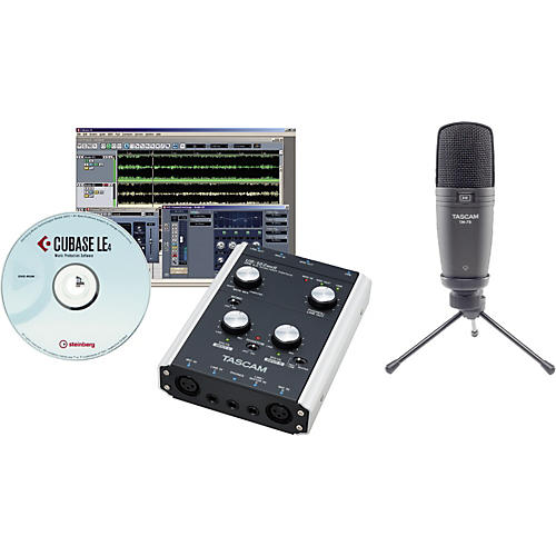 Tascam TrackPack X2 Bundle with US-122MKI-thumbnail