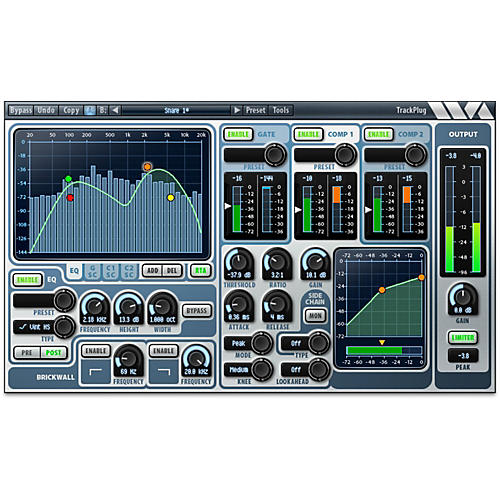 Wave Arts TrackPlug - AAX DSP Software Download thumbnail