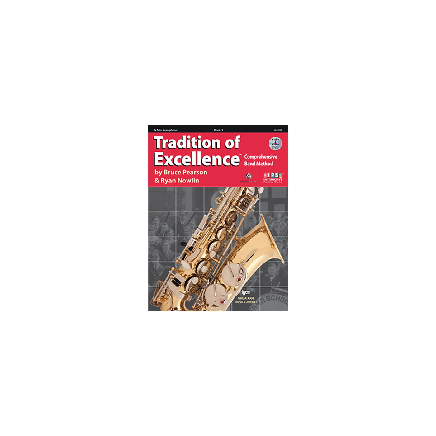 KJOS Tradition Of Excellence Book 1 for Alto Sax thumbnail