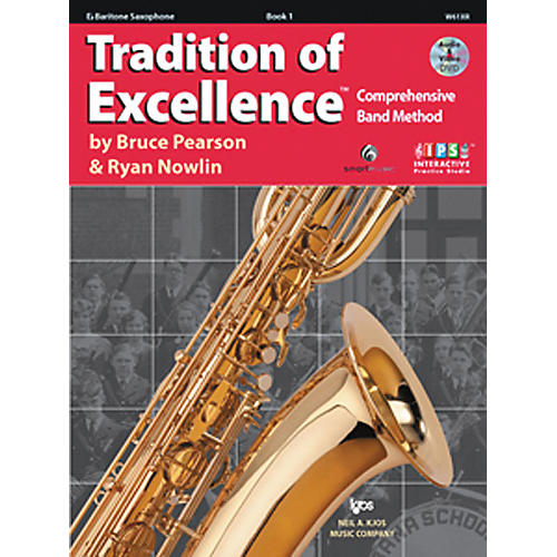 KJOS Tradition Of Excellence Book 1 for Bari Sax-thumbnail
