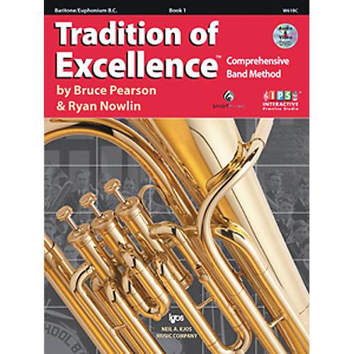 KJOS Tradition Of Excellence Book 1 for Baritone Bc thumbnail