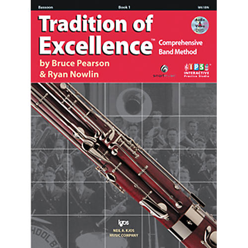 KJOS Tradition Of Excellence Book 1 for Bassoon thumbnail