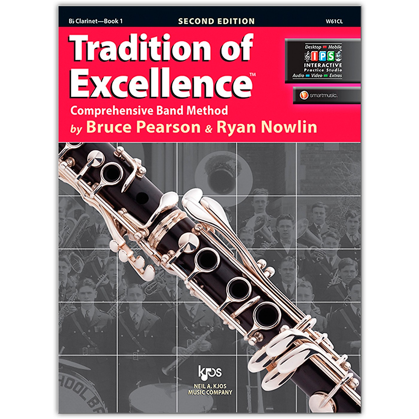 KJOS Tradition Of Excellence Book 1 for Clarinet thumbnail