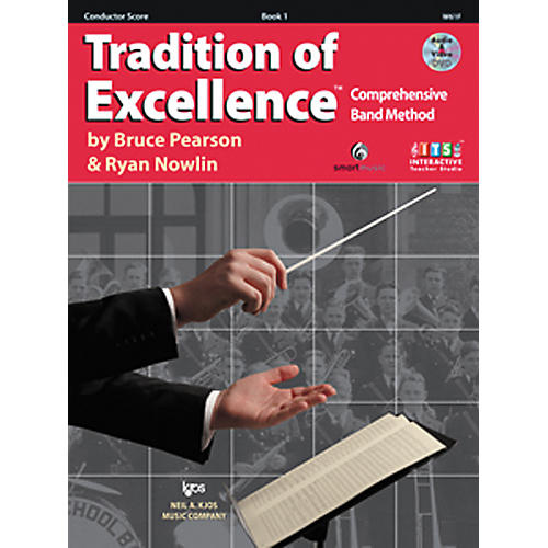 KJOS Tradition Of Excellence Book 1 for Conductor thumbnail