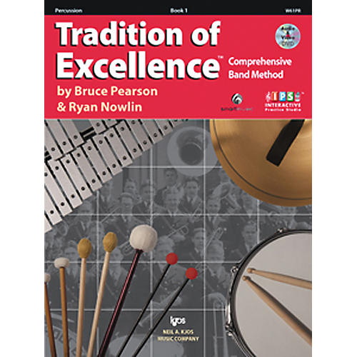 KJOS Tradition Of Excellence Book 1 for Percussion thumbnail