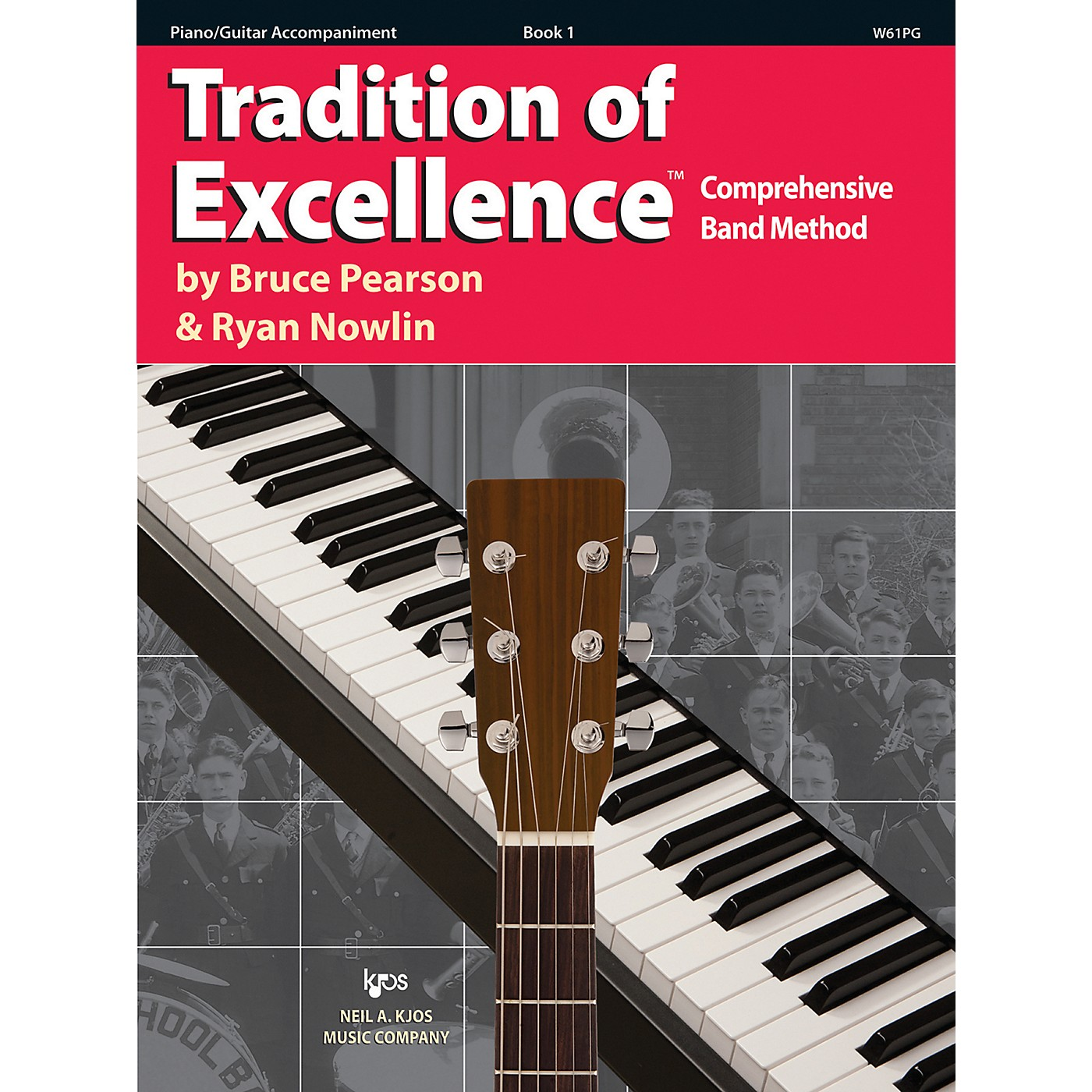 KJOS Tradition Of Excellence Book 1 for Piano/Guitar Accomp thumbnail