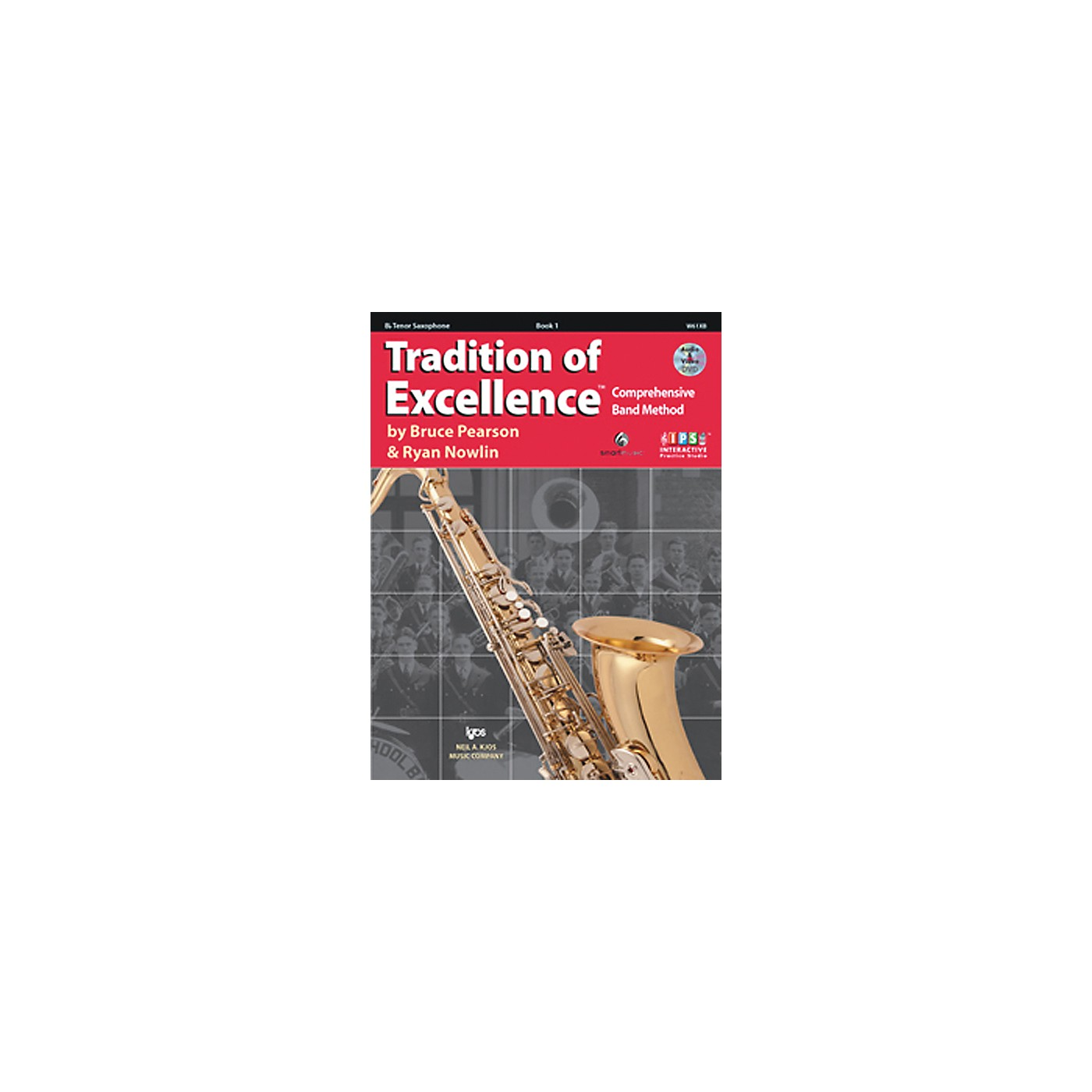 KJOS Tradition Of Excellence Book 1 for Tenor Sax thumbnail