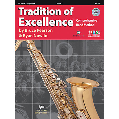 KJOS Tradition Of Excellence Book 1 for Tenor Sax-thumbnail