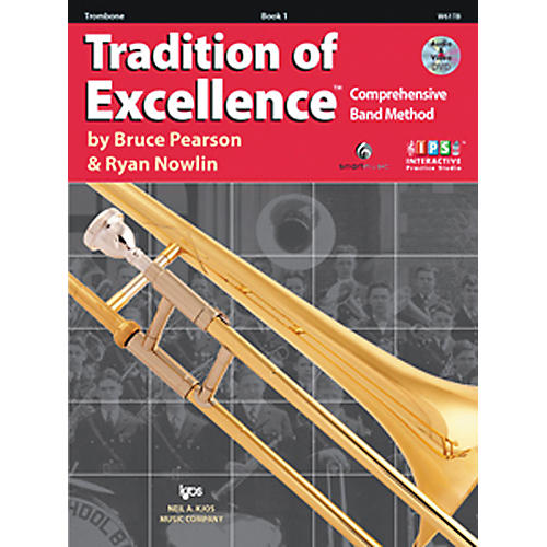 KJOS Tradition Of Excellence Book 1 for Trombone thumbnail