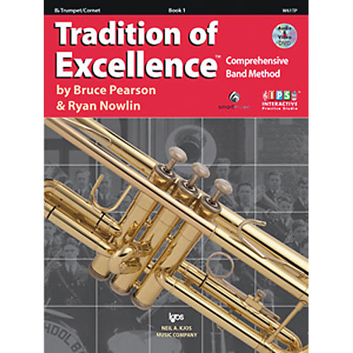 KJOS Tradition Of Excellence Book 1 for Trumpet thumbnail