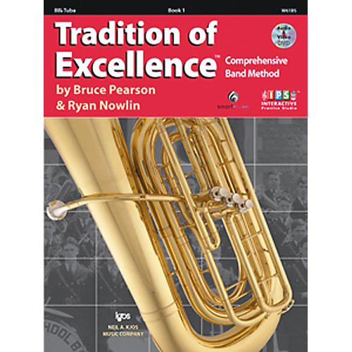 KJOS Tradition Of Excellence Book 1 for Tuba thumbnail