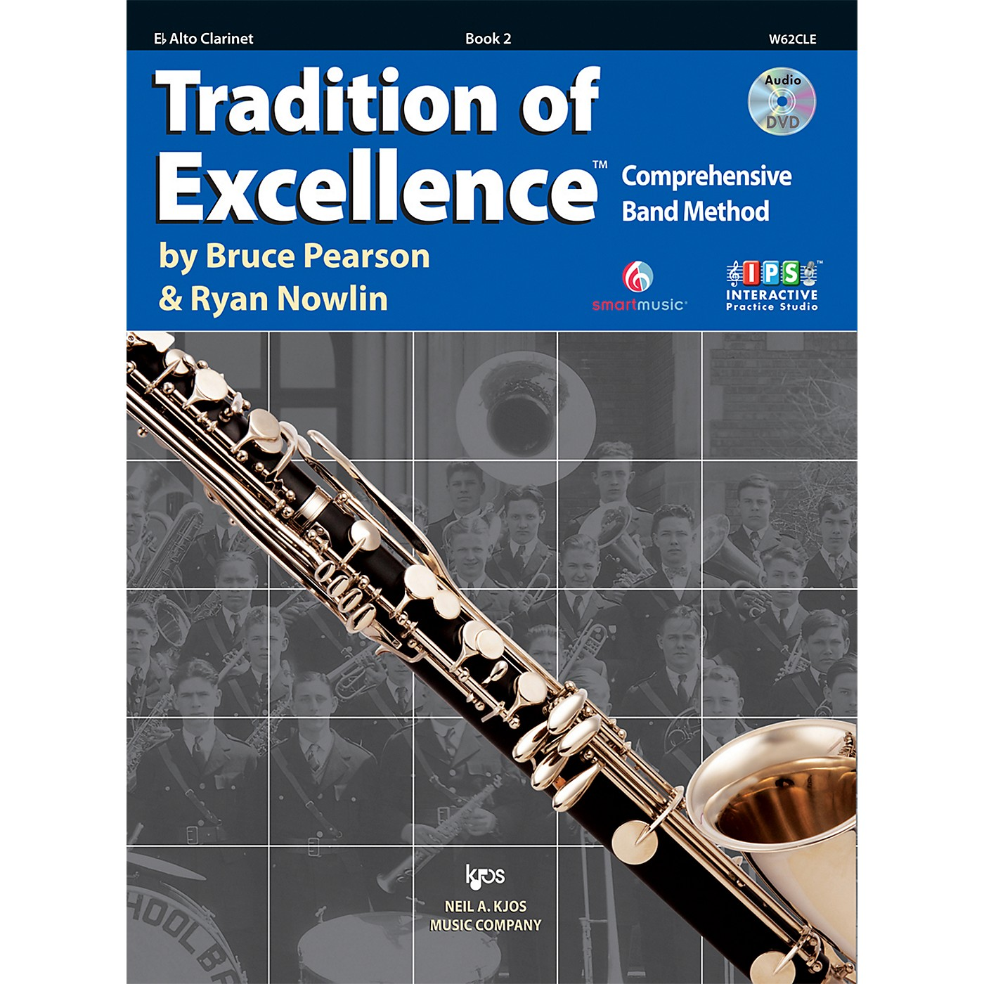 KJOS Tradition Of Excellence Book 2 for Alto Clarinet thumbnail