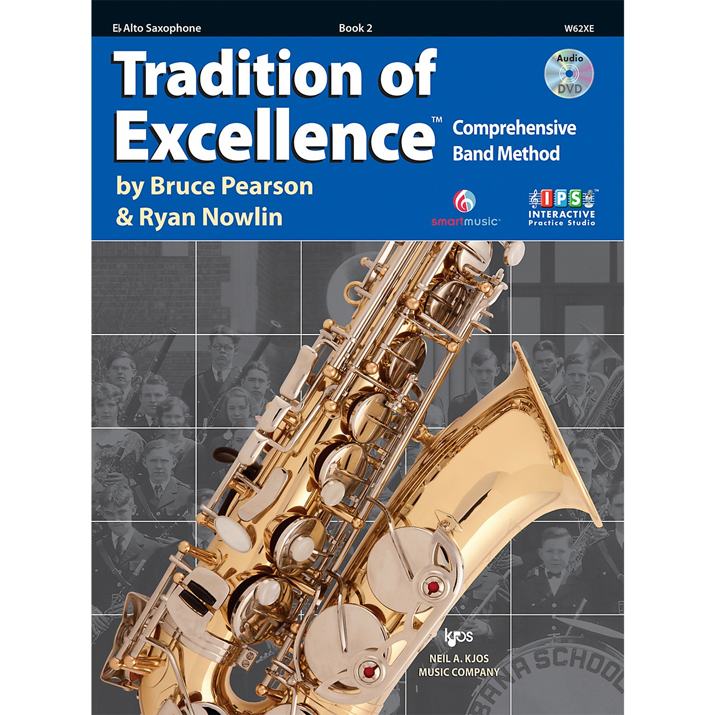 KJOS Tradition Of Excellence Book 2 for Alto Sax thumbnail
