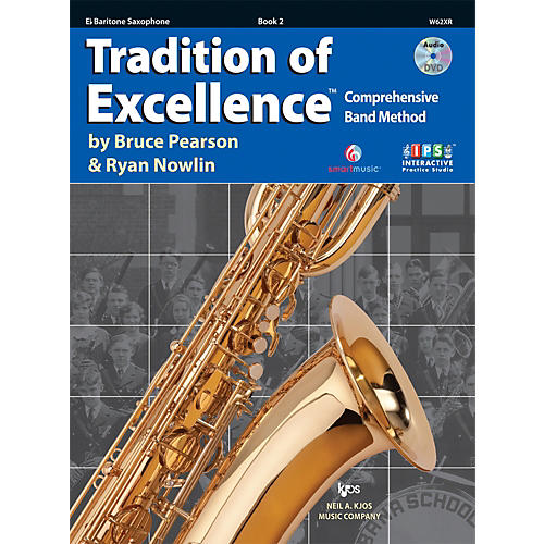 KJOS Tradition Of Excellence Book 2 for Bari Sax thumbnail