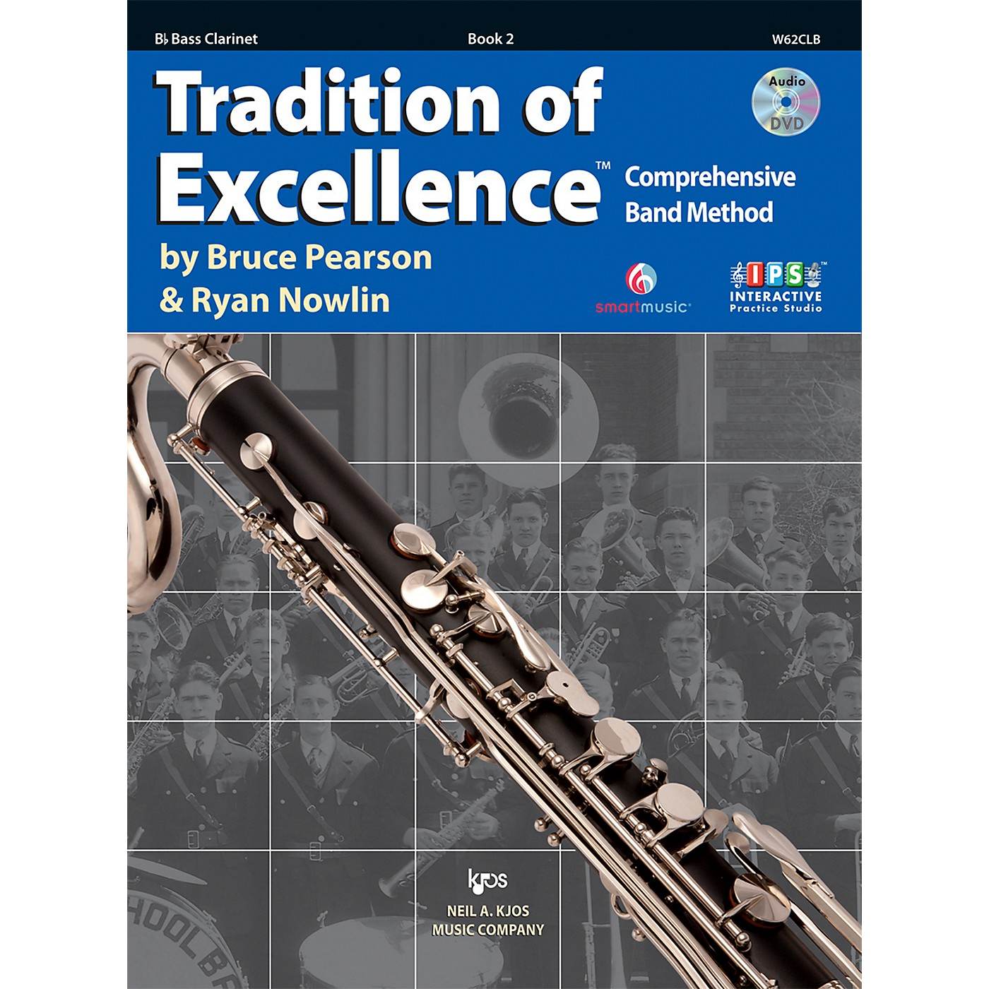 KJOS Tradition Of Excellence Book 2 for Bass Clarinet thumbnail