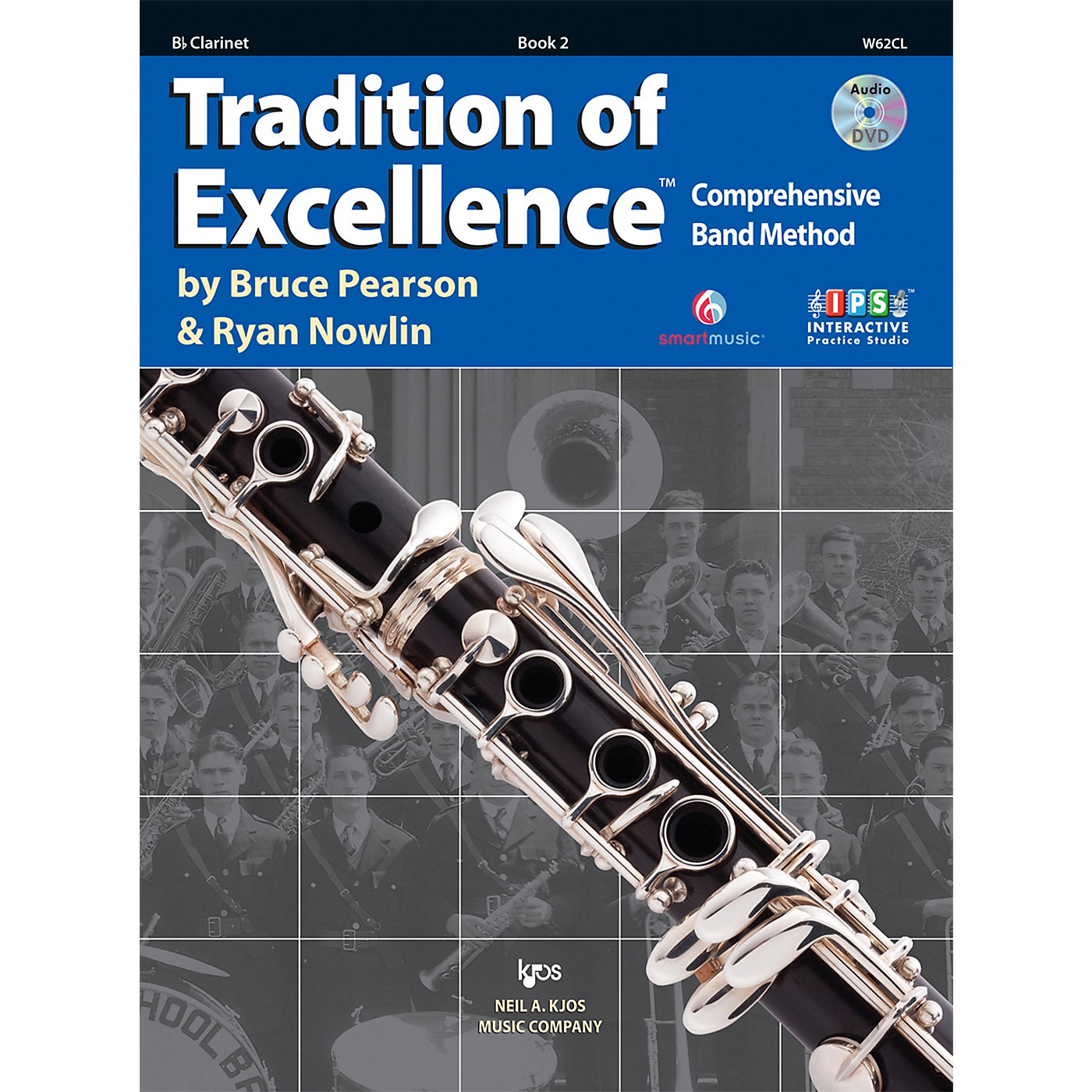 KJOS Tradition Of Excellence Book 2 for Clarinet thumbnail
