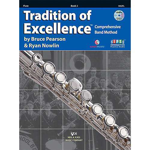 KJOS Tradition Of Excellence Book 2 for Flute thumbnail
