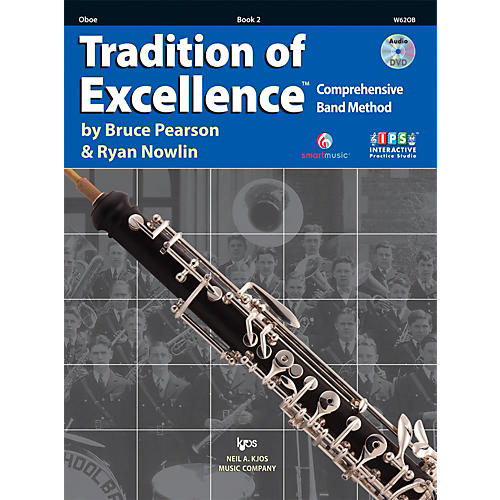 KJOS Tradition Of Excellence Book 2 for Oboe thumbnail