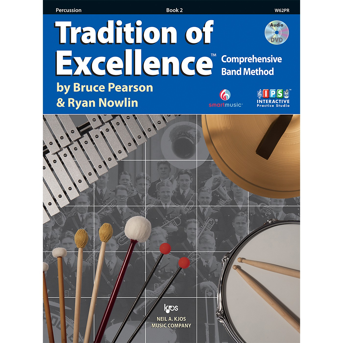 KJOS Tradition Of Excellence Book 2 for Percussion thumbnail