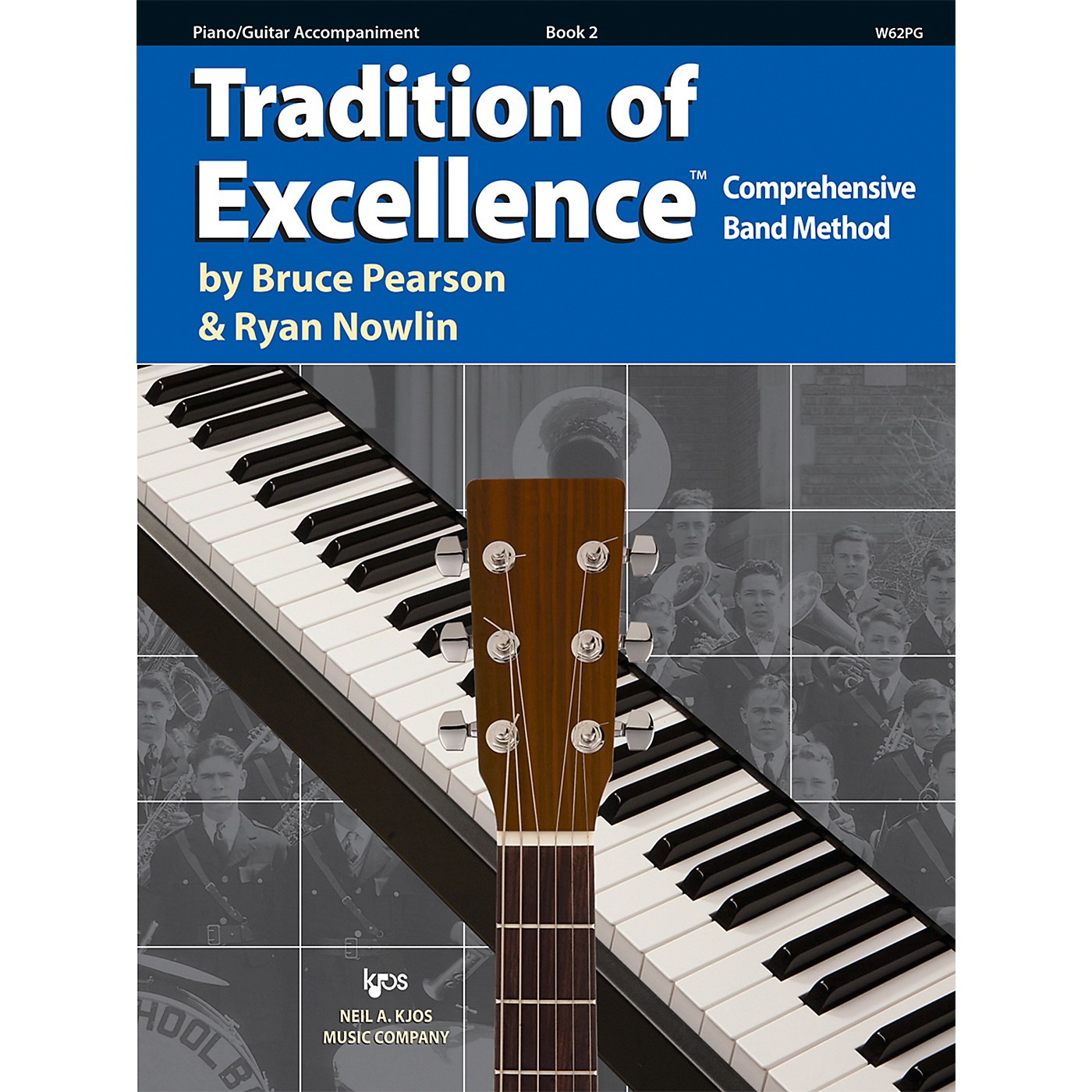 KJOS Tradition Of Excellence Book 2 for Piano / Guitar thumbnail