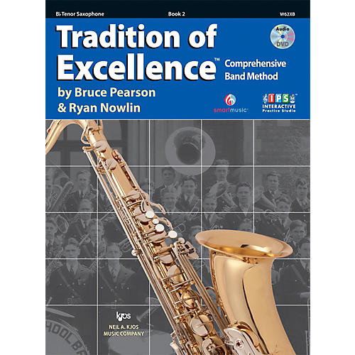 KJOS Tradition Of Excellence Book 2 for Tenor Sax thumbnail